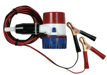 12 volt water pump with clips