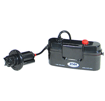 6 Volt Battery-Powered Pump with battery case | Zodi.com