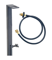 Propane tank adapter for use with the Hot Tap and Zip Showers and other propane products | Zodi.com